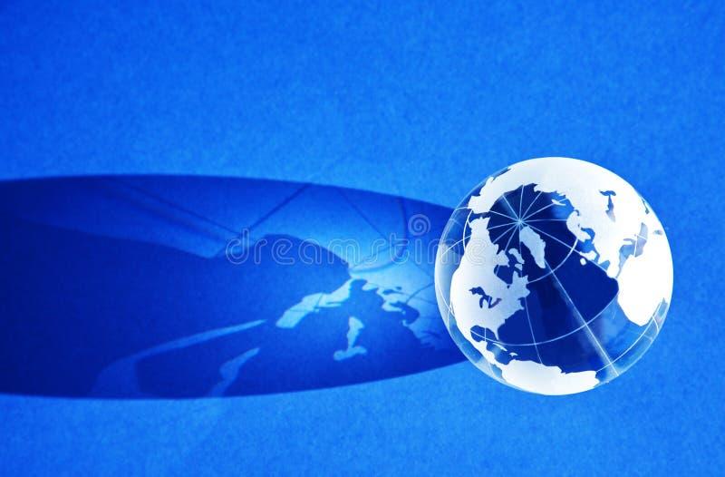 μπλε σφαίρα ανασκόπησης ελεύθερη απεικόνιση δικαιώματος