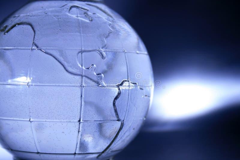 μπλε σφαίρα γυαλιού στοκ φωτογραφίες με δικαίωμα ελεύθερης χρήσης