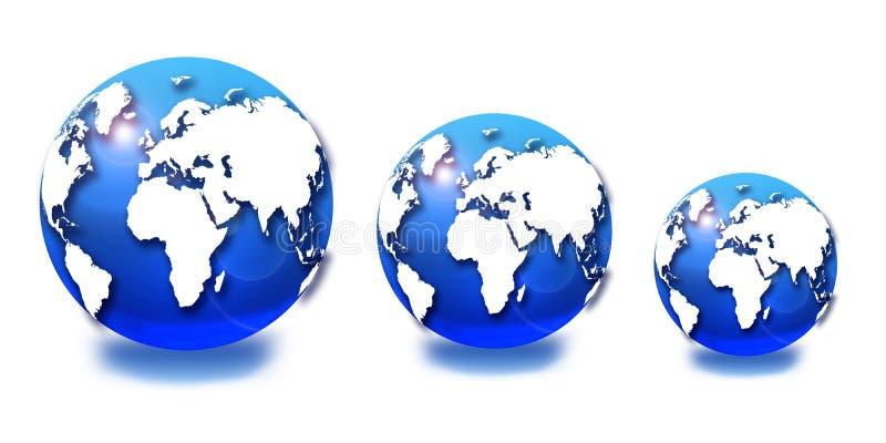 Download μπλε σφαίρα απεικόνιση αποθεμάτων. εικονογραφία από μεταφορά - 17053890