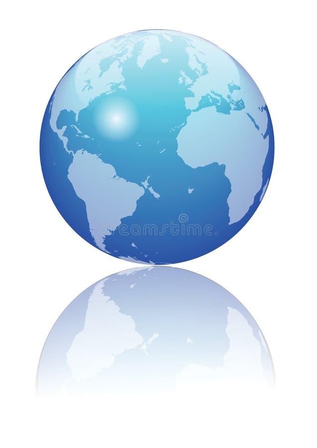μπλε σφαίρα απεικόνιση αποθεμάτων
