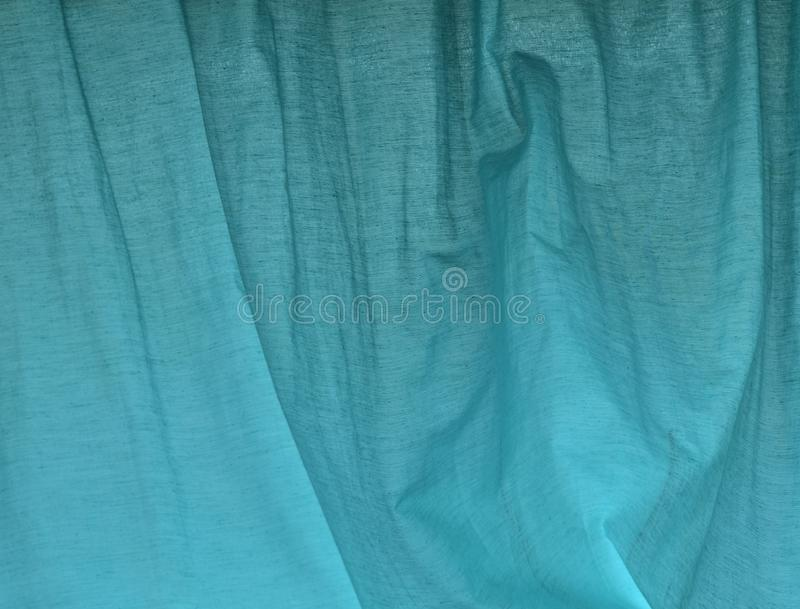 Μπλε σχέδιο υποβάθρου κουρτινών Aqua στοκ εικόνες με δικαίωμα ελεύθερης χρήσης