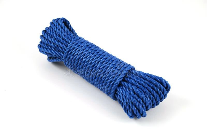 μπλε σχοινί στοκ εικόνες με δικαίωμα ελεύθερης χρήσης