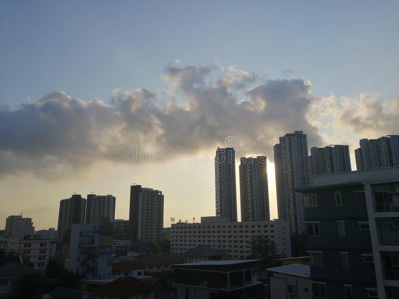 Ουρανός πόλεων στοκ εικόνα