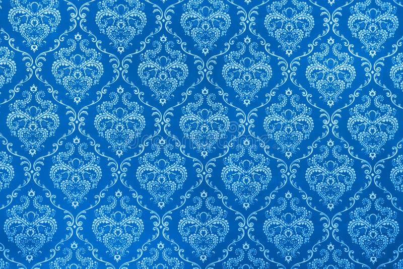 μπλε σύσταση βαμβακερού &u στοκ φωτογραφίες με δικαίωμα ελεύθερης χρήσης
