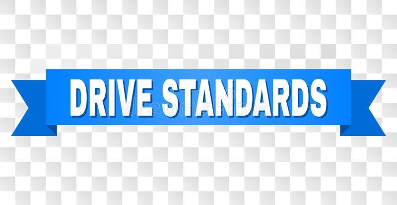 Μπλε ταινία με τον τίτλο ΠΡΟΤΎΠΩΝ DRIVE διανυσματική απεικόνιση