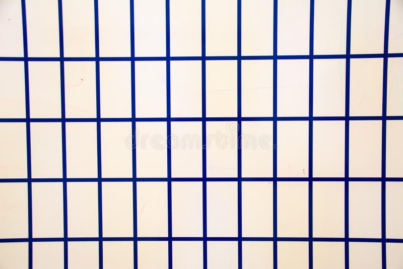 Μπλε τετράγωνα Άνευ ραφής χρωματισμένο σχέδιο Χαριτωμένο υπόβαθρο Αφηρημένη γεωμετρική ταπετσαρία της επιφάνειας στοκ φωτογραφία με δικαίωμα ελεύθερης χρήσης