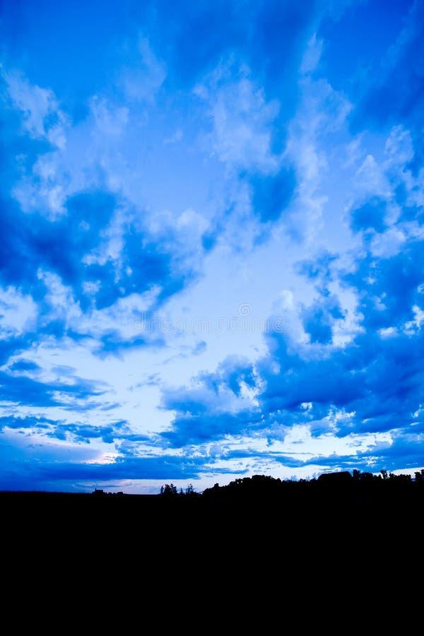 μπλε τοπίο στοκ φωτογραφίες