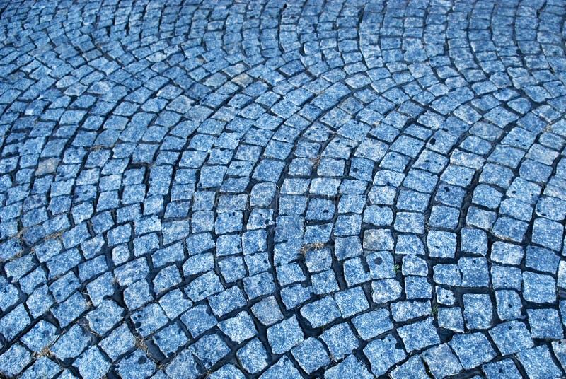 μπλε τρόπος κυβόλινθων στοκ εικόνες