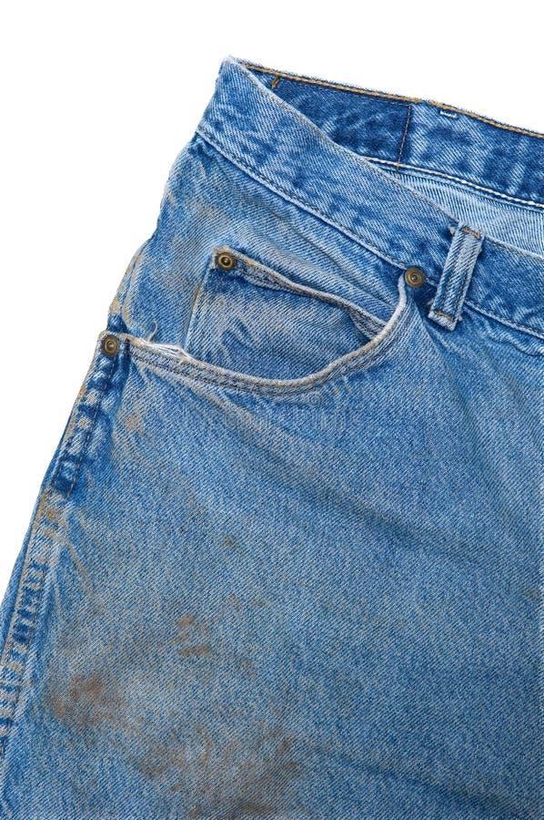 Download μπλε τσέπη τζιν λεπτομέρειας βρώμικη Στοκ Εικόνες - εικόνα από ακάθαρτος, παντελόνι: 1531528