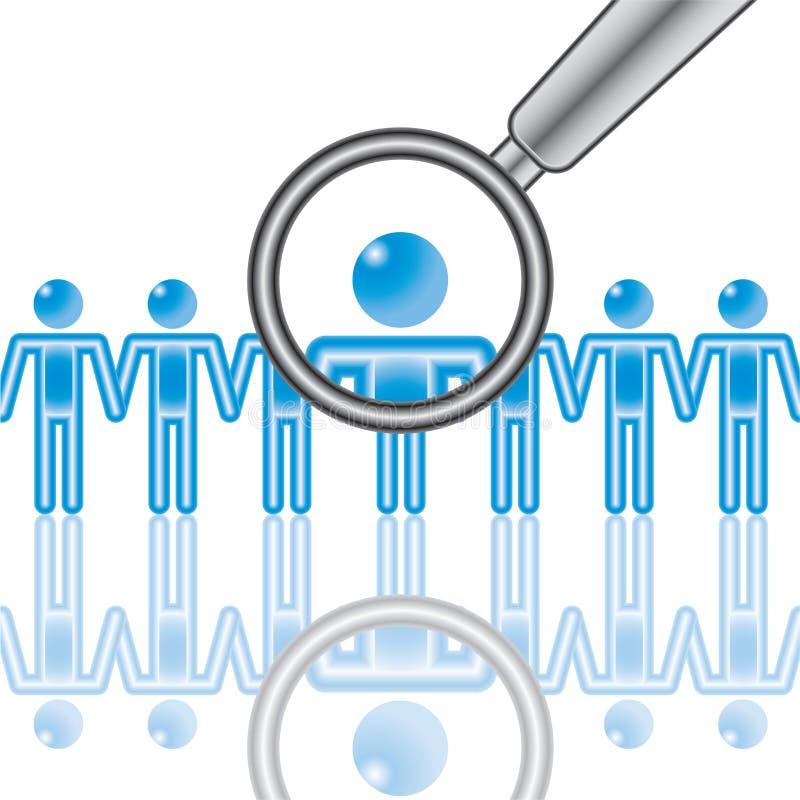 μπλε υπάλληλος 15 ελεύθερη απεικόνιση δικαιώματος