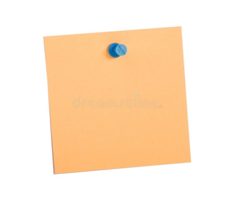μπλε υπενθύμιση καρφιτσών στοκ εικόνα με δικαίωμα ελεύθερης χρήσης