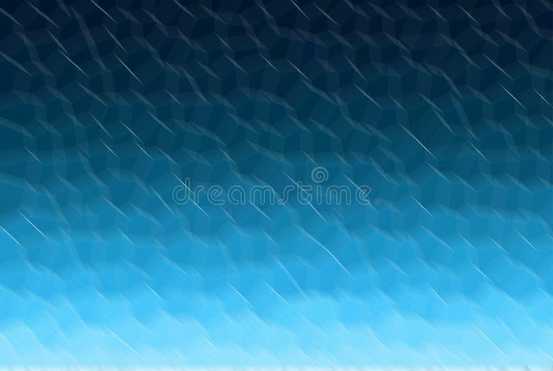 Μπλε υπόβαθρο κλίσης Η θαμπάδα polygonal πωλεί το σχέδιο σύστασης απεικόνιση αποθεμάτων