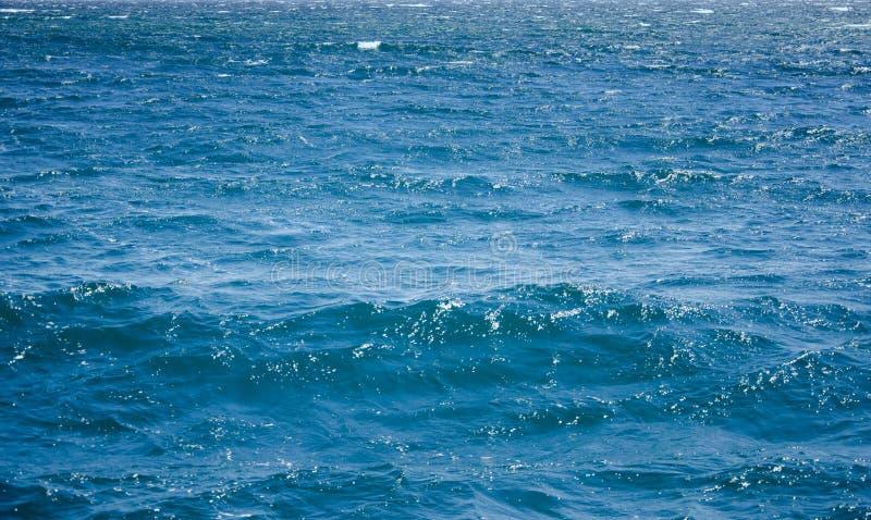 Μπλε υπόβαθρο νερού, σύσταση κυμάτων στοκ φωτογραφία με δικαίωμα ελεύθερης χρήσης