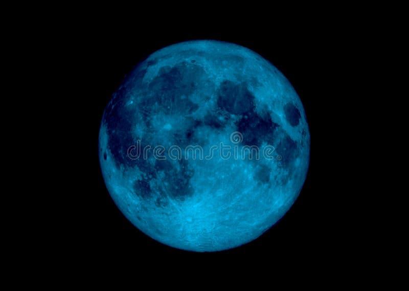 μπλε φεγγάρι απεικόνιση αποθεμάτων