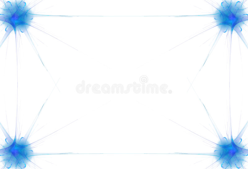 μπλε φλόγα συνόρων ελεύθερη απεικόνιση δικαιώματος
