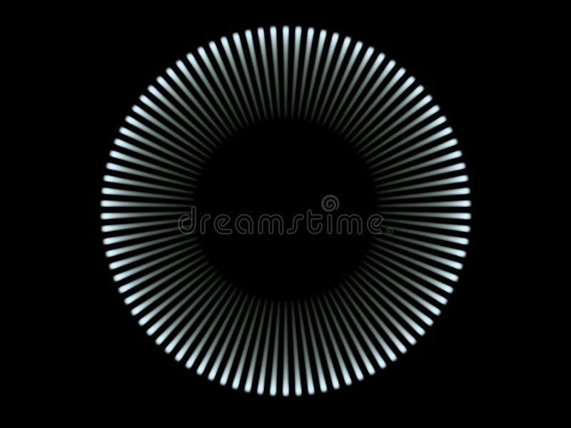 μπλε φως κύκλων ελεύθερη απεικόνιση δικαιώματος