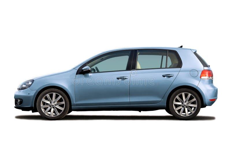 μπλε φως hatchback στοκ φωτογραφία με δικαίωμα ελεύθερης χρήσης