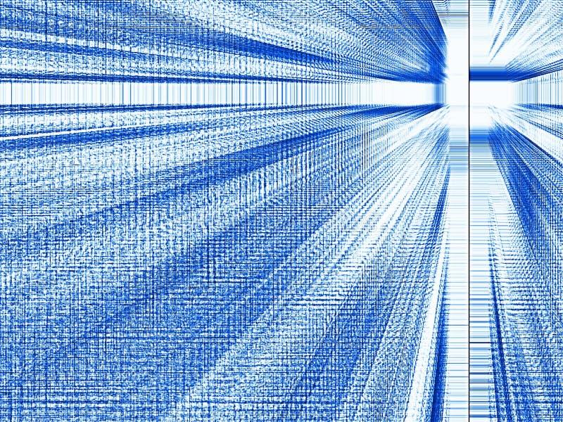 μπλε φωτεινή προοπτική ελεύθερη απεικόνιση δικαιώματος