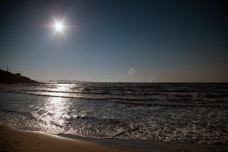 μπλε φωτεινός σκοτεινός ή στοκ φωτογραφία με δικαίωμα ελεύθερης χρήσης