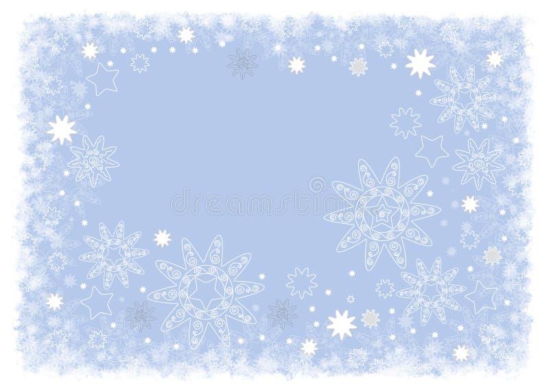μπλε φωτεινό σχέδιο Χριστ&o ελεύθερη απεικόνιση δικαιώματος
