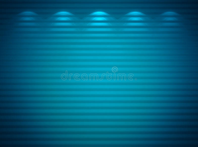μπλε φωτισμένος τοίχος ελεύθερη απεικόνιση δικαιώματος