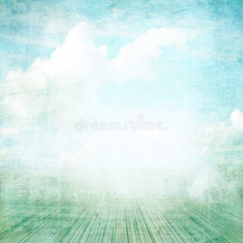 μπλε φωτογραφία ανασκόπησης λευκωμάτων διανυσματική απεικόνιση
