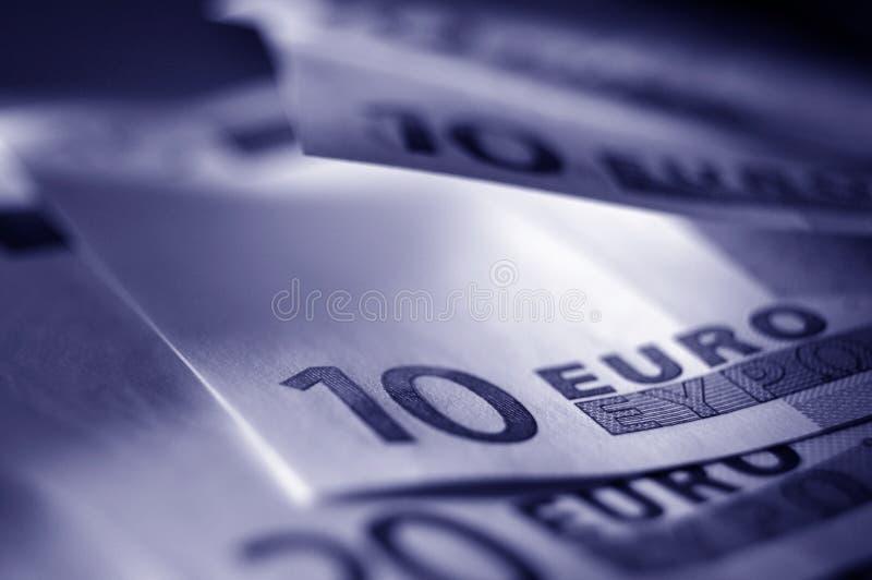 μπλε χρήματα στοκ φωτογραφίες