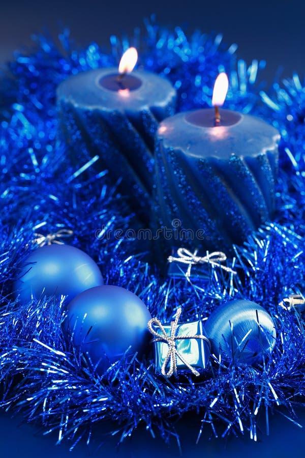 μπλε Χριστούγεννα στοκ φωτογραφίες με δικαίωμα ελεύθερης χρήσης