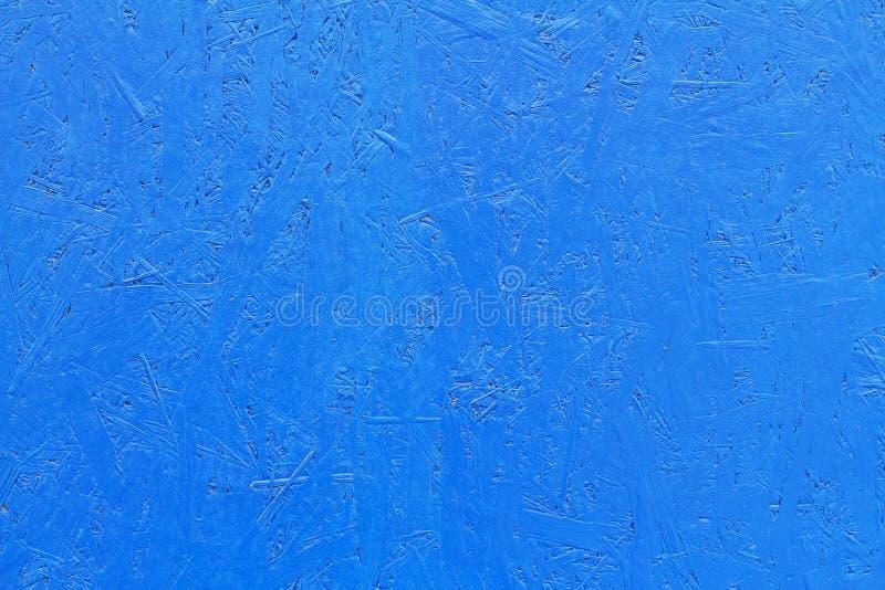 Μπλε χρωματισμένος πίνακας OSB στοκ φωτογραφίες