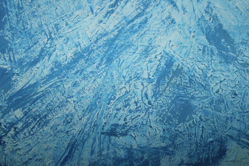 Μπλε χρωματισμένο υπόβαθρο τοίχων Αφηρημένη ζωηρόχρωμη σύσταση υποβάθρου απεικόνιση αποθεμάτων
