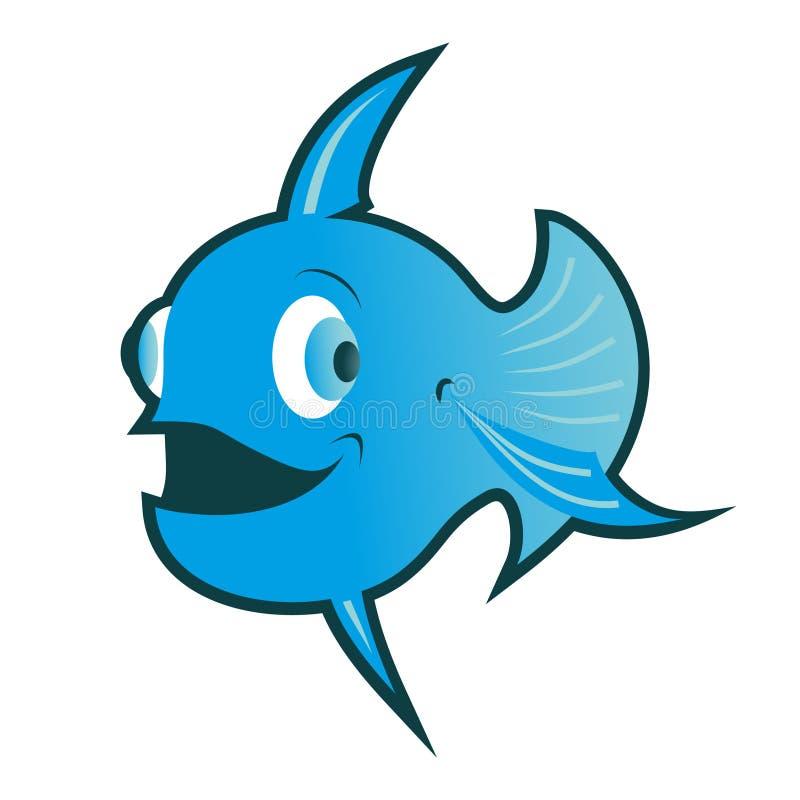 μπλε ψάρια απεικόνιση αποθεμάτων