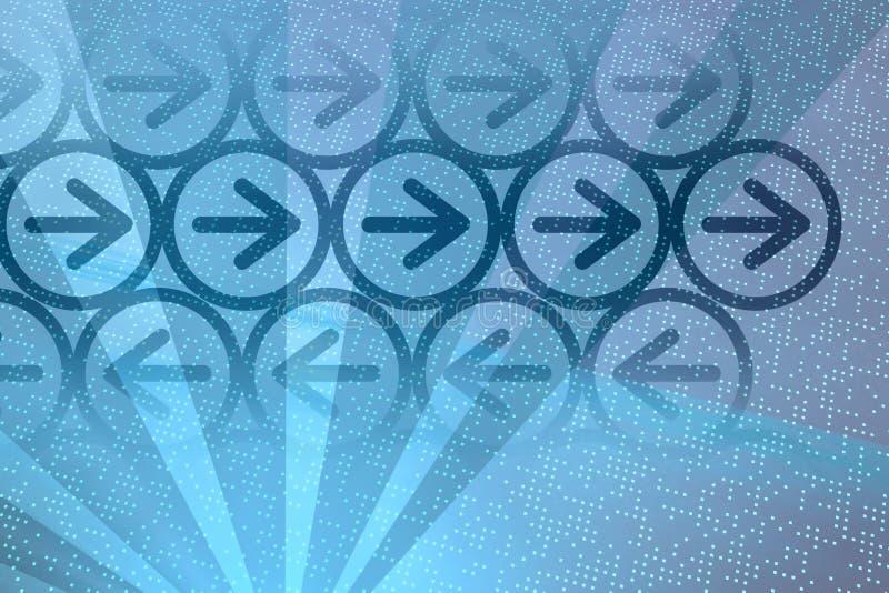 μπλε ψηφιακός βελών Στοκ εικόνες με δικαίωμα ελεύθερης χρήσης