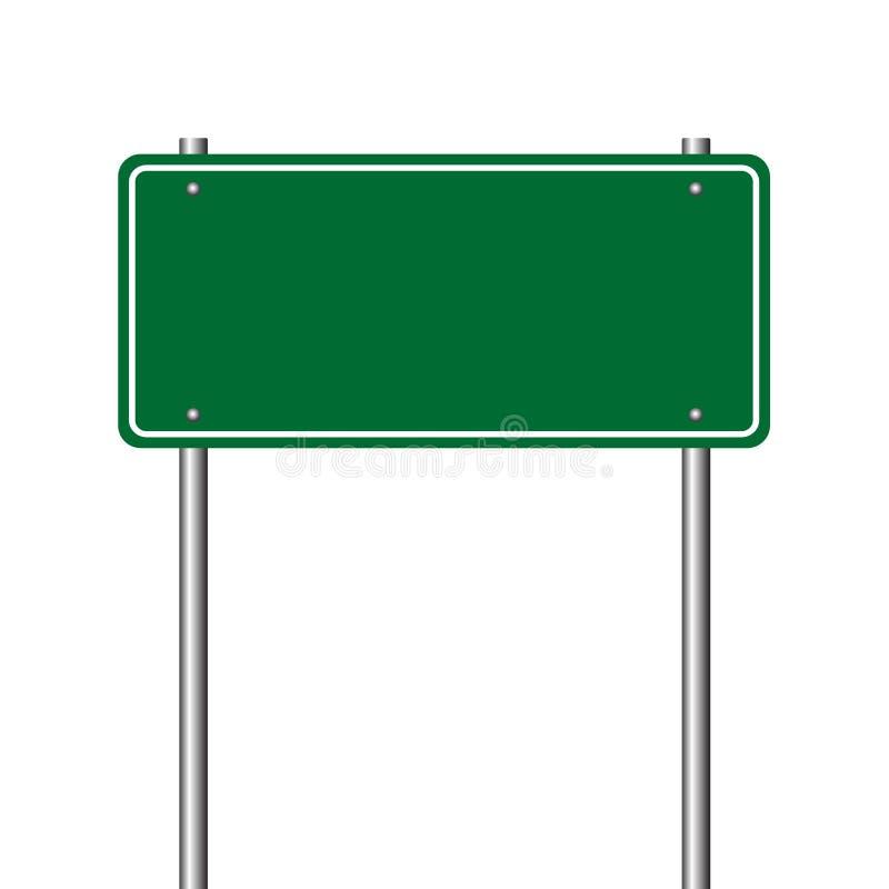 μπλε όψη απόχρωσης οδικών σημαδιών γωνίας ευρέως απεικόνιση αποθεμάτων