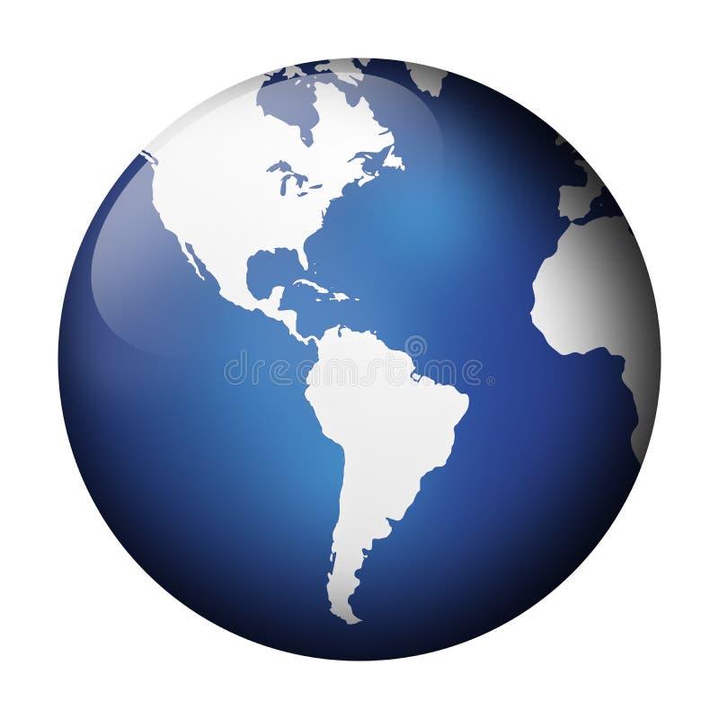 μπλε όψη σφαιρών απεικόνιση αποθεμάτων