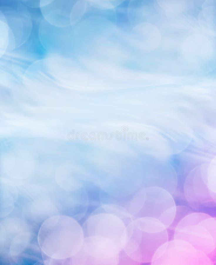 μπλε bokeh ανασκόπησης εύχρηστο στοκ φωτογραφία με δικαίωμα ελεύθερης χρήσης