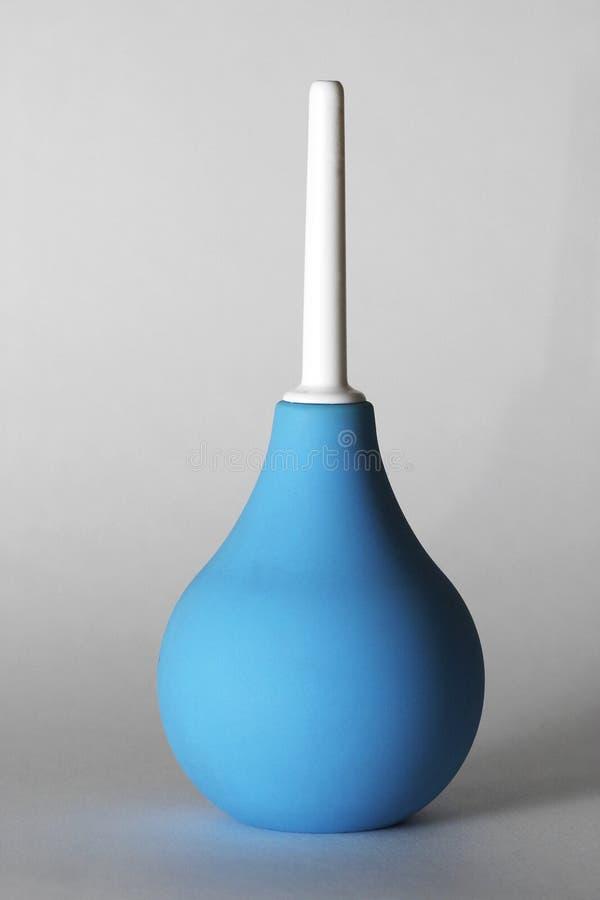 μπλε enema στοκ φωτογραφία