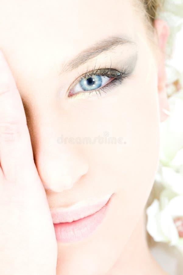 μπλε eyed στοκ εικόνες