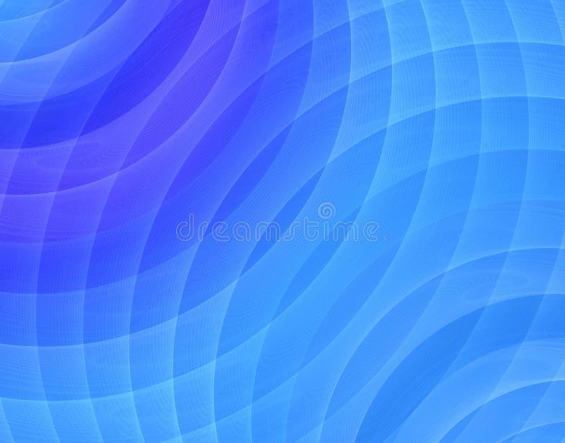 μπλε fractal ήχος διανυσματική απεικόνιση