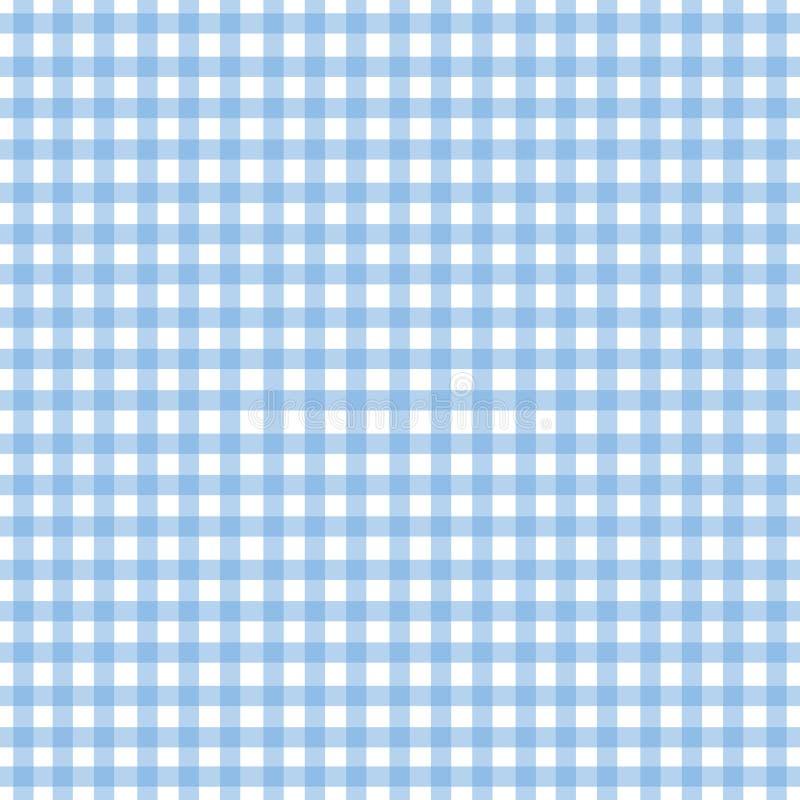 μπλε gingham φως ελεύθερη απεικόνιση δικαιώματος