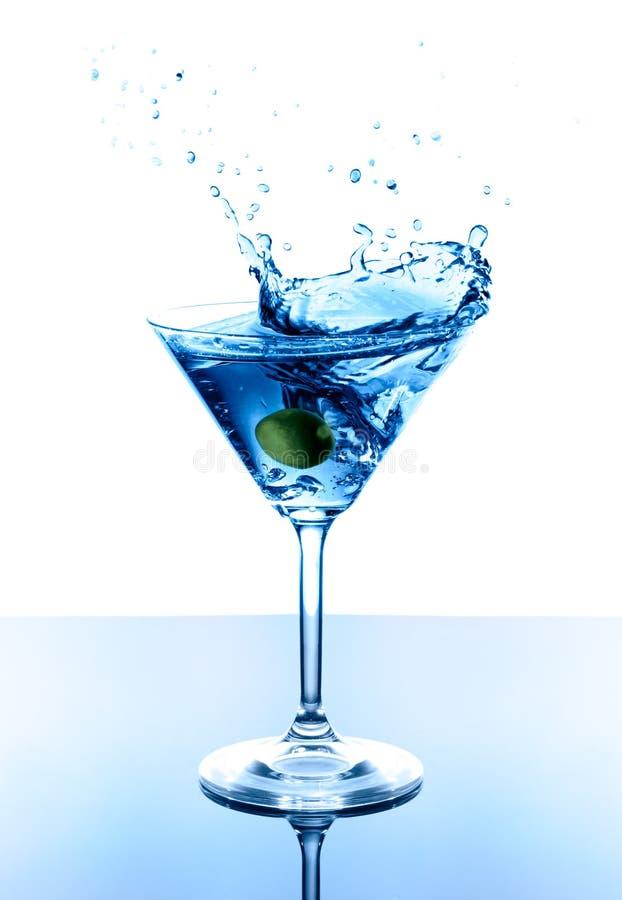 μπλε martini στοκ φωτογραφίες με δικαίωμα ελεύθερης χρήσης