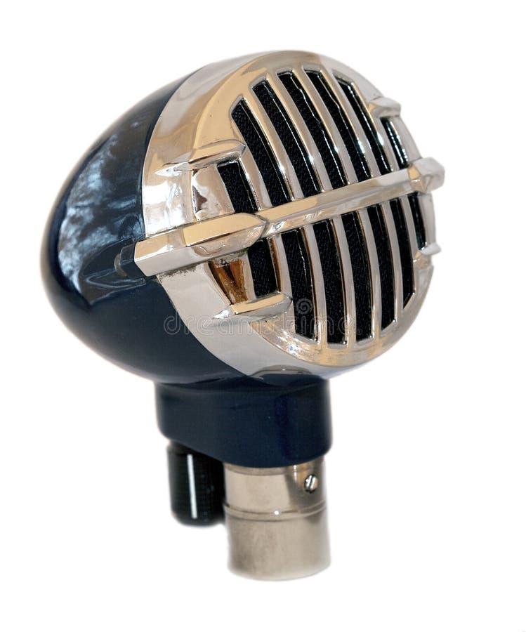 μπλε mic στοκ φωτογραφία με δικαίωμα ελεύθερης χρήσης