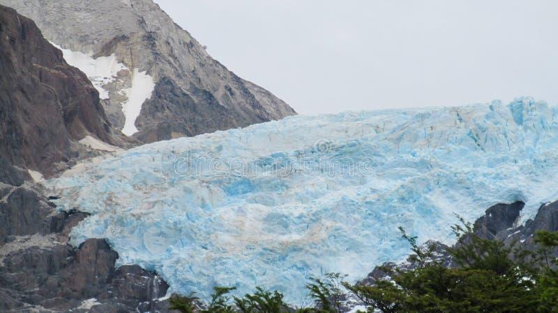Μπλε patagonian παγετώνας πάγου στοκ εικόνες