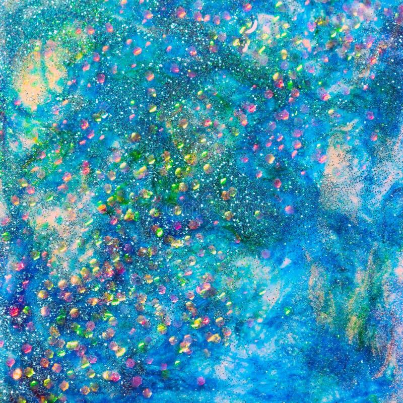 Μπλε Seascape ακτινοβολεί σχέδιο διανυσματική απεικόνιση