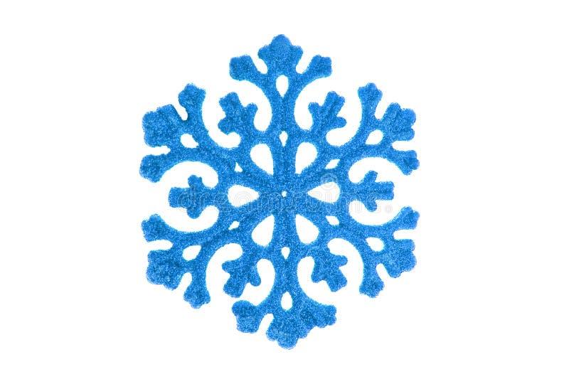 μπλε snowflake στοκ φωτογραφίες