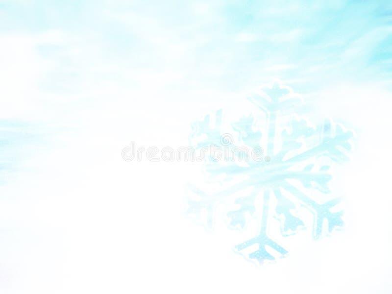 μπλε snowflakes ανασκόπησης άσπρος χειμώνας αφηρημένο snowflake ανασκόπησης στοκ φωτογραφίες