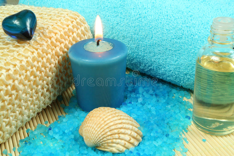 μπλε SPA στοκ φωτογραφία με δικαίωμα ελεύθερης χρήσης