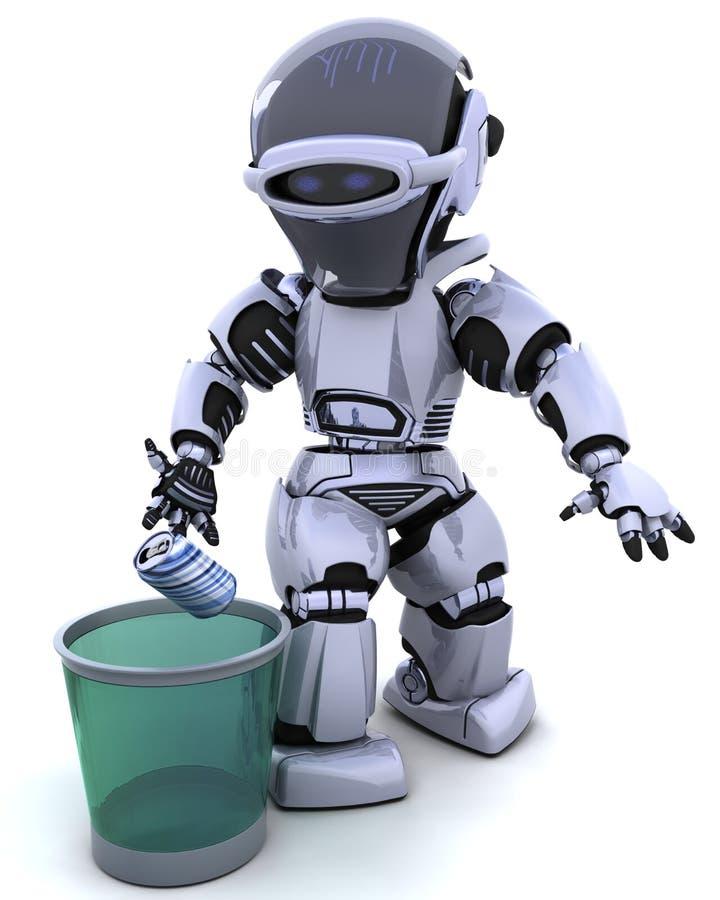 μπορέστε απορρίμματα ρομπό&ta απεικόνιση αποθεμάτων
