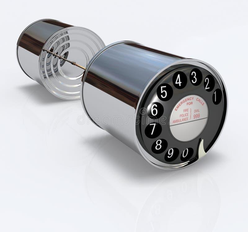 μπορέστε να τηλεφωνήσετ&epsilon διανυσματική απεικόνιση