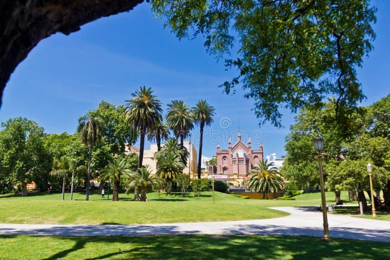 Μπουένος Άιρες Barrio Norte Parc Recoleta στοκ φωτογραφία με δικαίωμα ελεύθερης χρήσης