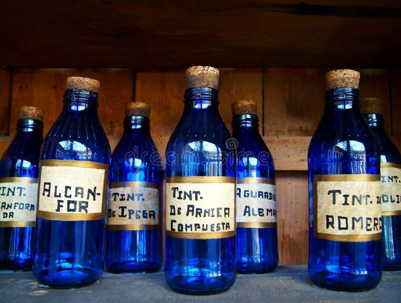 μπουκάλια ιατρικά στοκ φωτογραφία με δικαίωμα ελεύθερης χρήσης